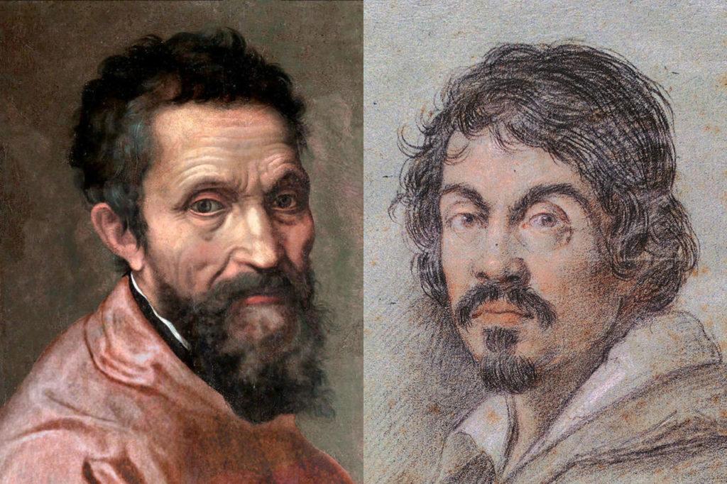 Michelangelo Buonarroti si Caravaggio