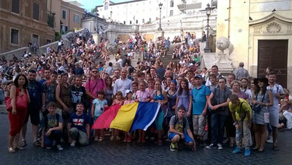 turisti la roma